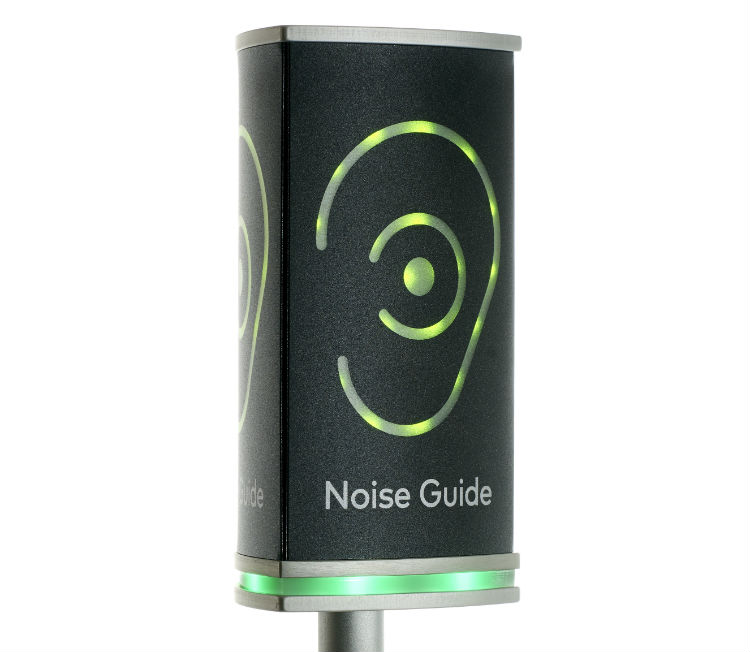 Lower office noise with Noise Guide