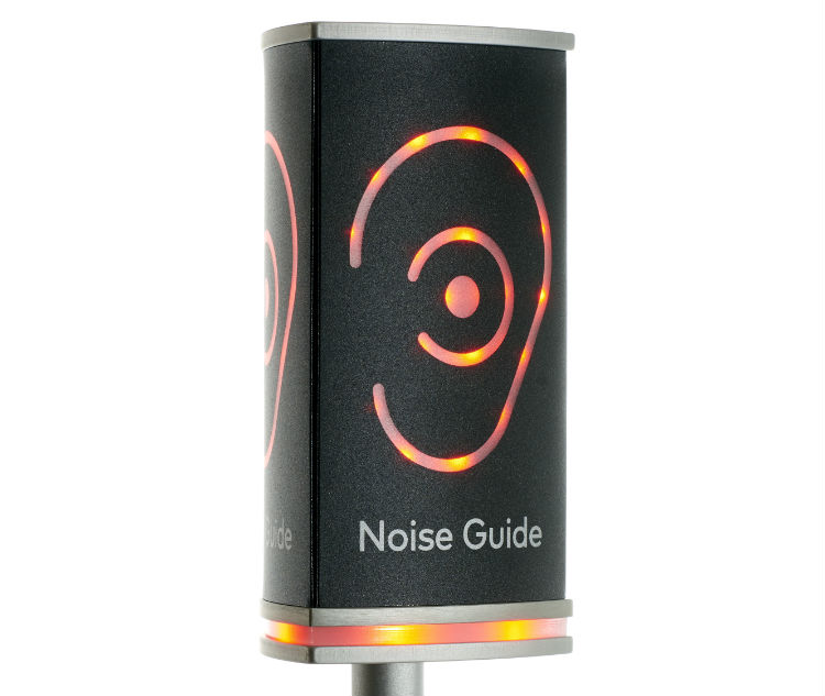 Change the noise levels with Noise Guide